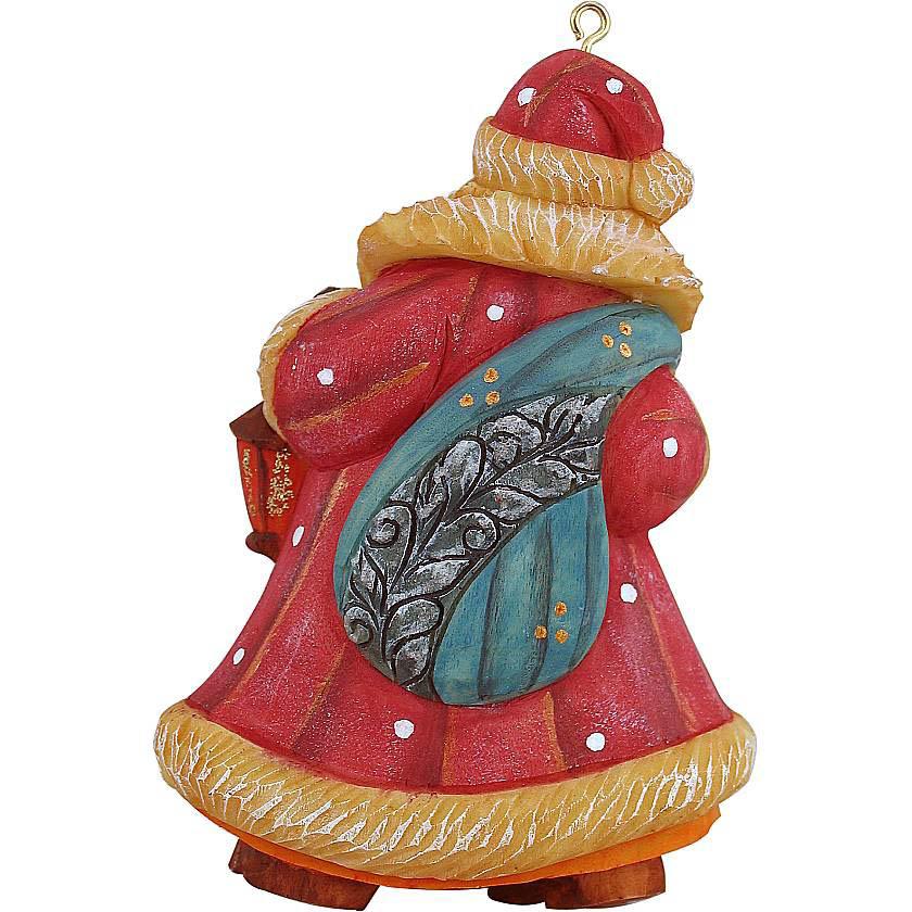 {}  Украшение Дед Мороз (10 см) фигурки sweet home ёлочное украшение дед мороз