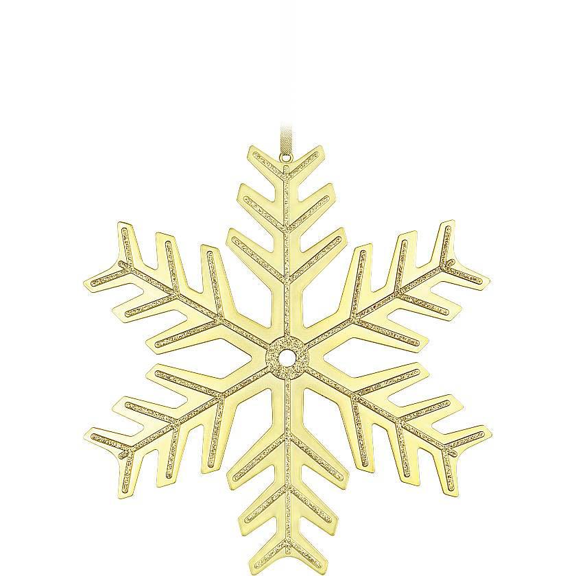 {} Украшение Снежинка Цвет: Золотой (40 см)