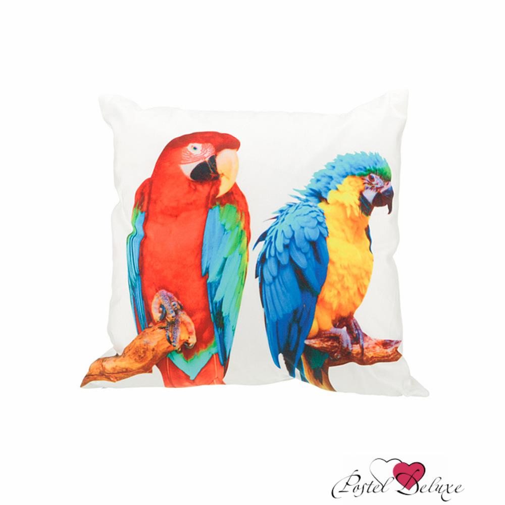 Декоративные подушки Оптпромторг Декоративная подушка Яркие Попугаи (45х45) попугаи розелла фото москва
