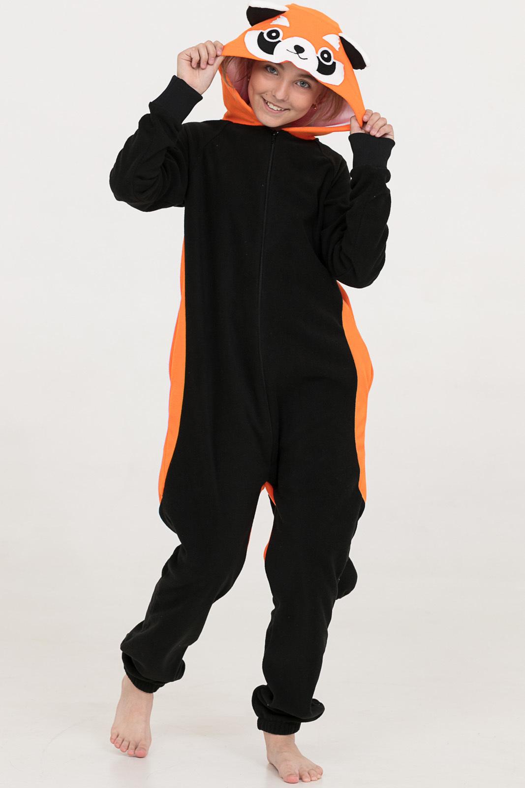 Детские пижамы Футужама Детская пижама-кигуруми Енот (6-8 лет)