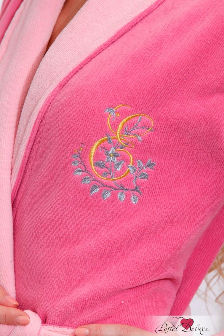 Сауны, бани и оборудование Peache Monnaie Халат Lady Eva Цвет: Сухая роза (хххL) сауны бани и оборудование peache monnaie халат queen цвет кремовый xxxl