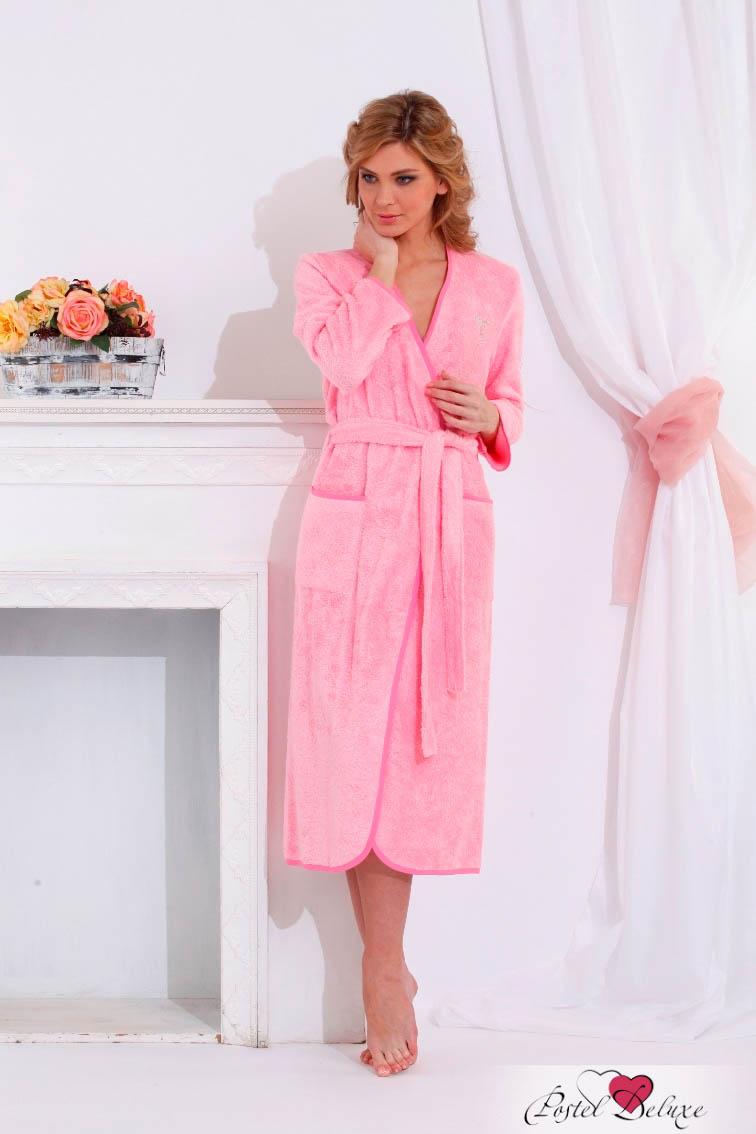 Сауны, бани и оборудование Peache Monnaie Халат Shine Цвет: Розовый (хL) сауны бани и оборудование peache monnaie халат queen цвет кремовый xxxl