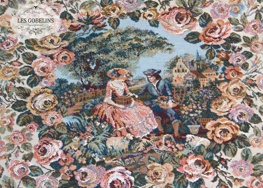 Декоративные подушки Les Gobelins Декоративная наволочка Poesie (35х35) наволочки декоративные рапира декоративная шёлковая наволочка поцелуй на улице 33х33 см