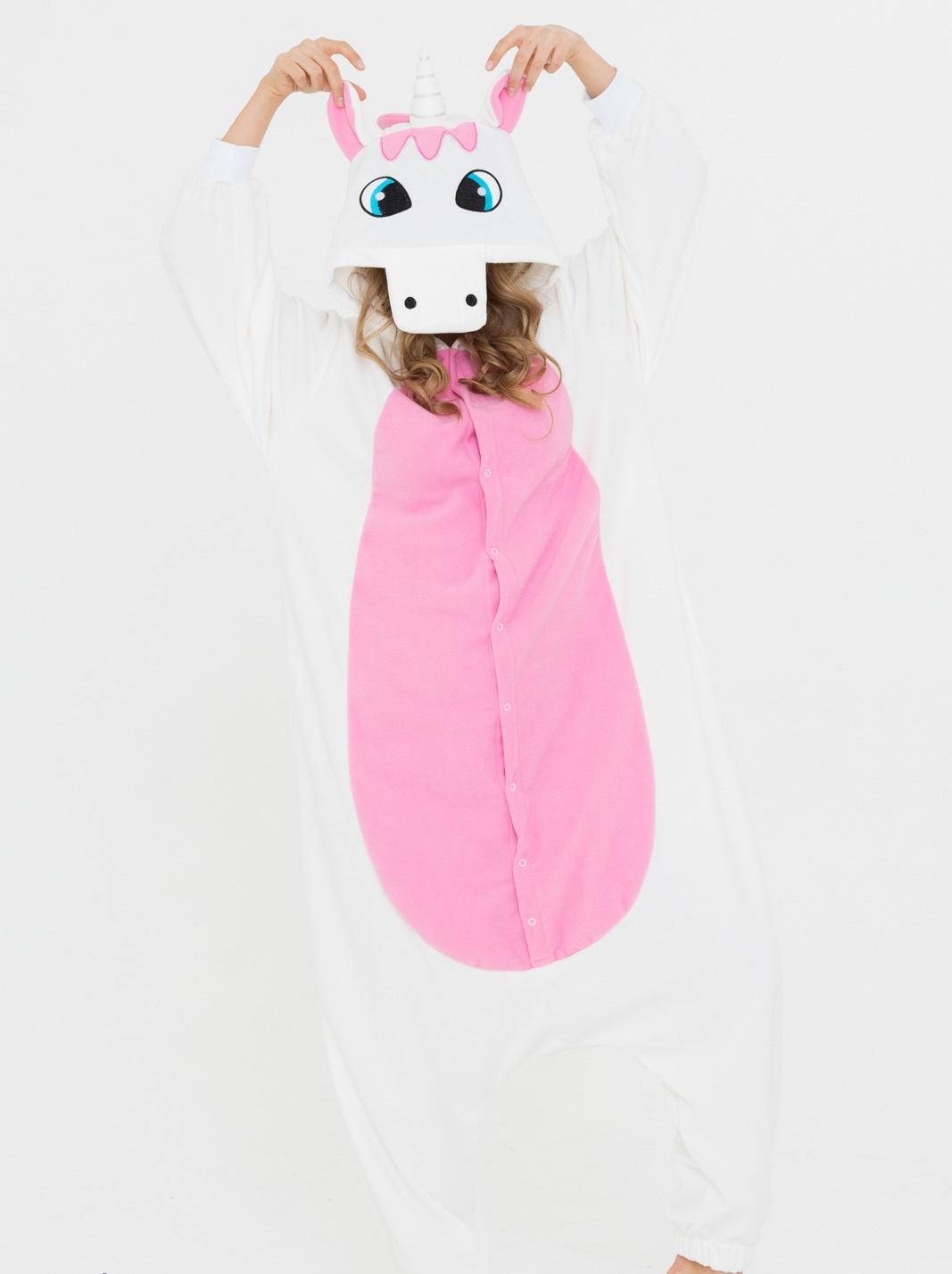 Пижамы Футужама Пижама-кигуруми Единорог Розовый (L)