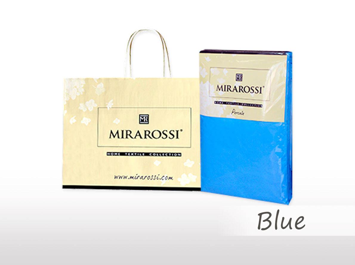 Простыни MIRAROSSI Простыня на резинке Nilo Цвет: Голубой (186х208) простыни mirarossi простыня на резинке nilo цвет коралловый 146х208