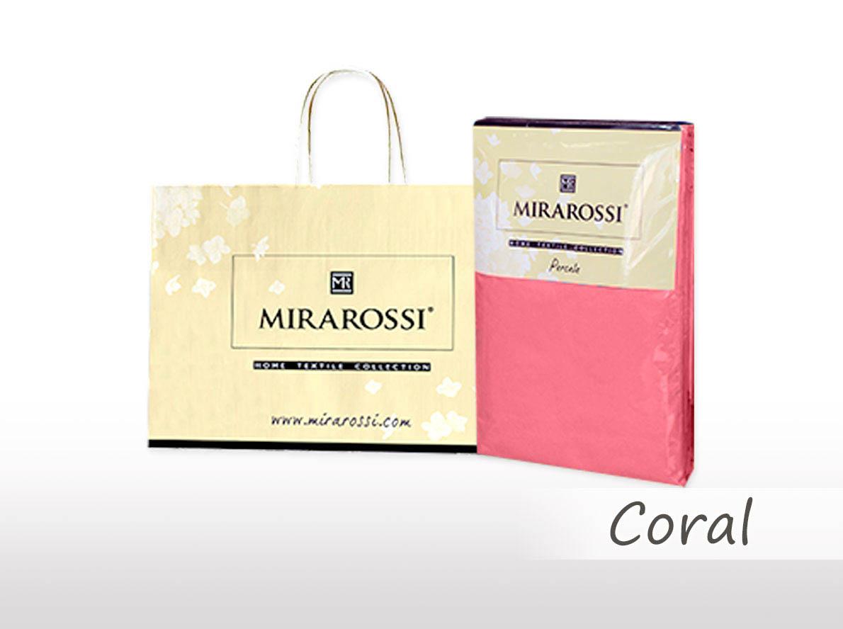 Простыни MIRAROSSI Простыня на резинке Nilo Цвет: Коралловый (186х208) простыни mirarossi простыня на резинке nilo цвет коралловый 146х208