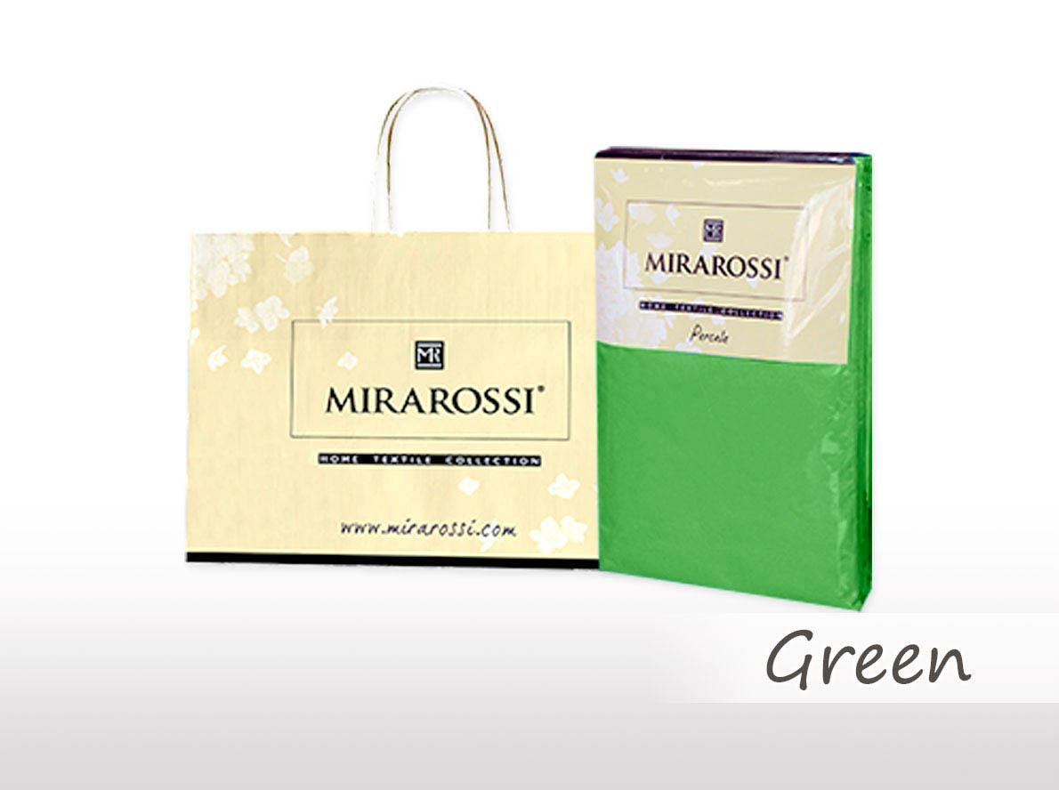 Простыни MIRAROSSI Простыня на резинке Nilo Цвет: Зеленый (166х208) простыни mirarossi простыня на резинке nilo цвет коралловый 146х208