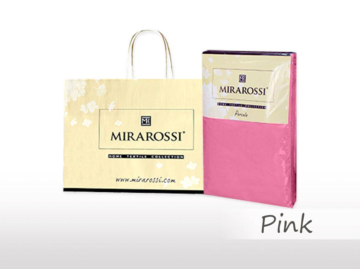 Простыни MIRAROSSI Простыня на резинке Nilo Цвет: Розовый (166х208) простыни mirarossi простыня на резинке nilo цвет коралловый 146х208