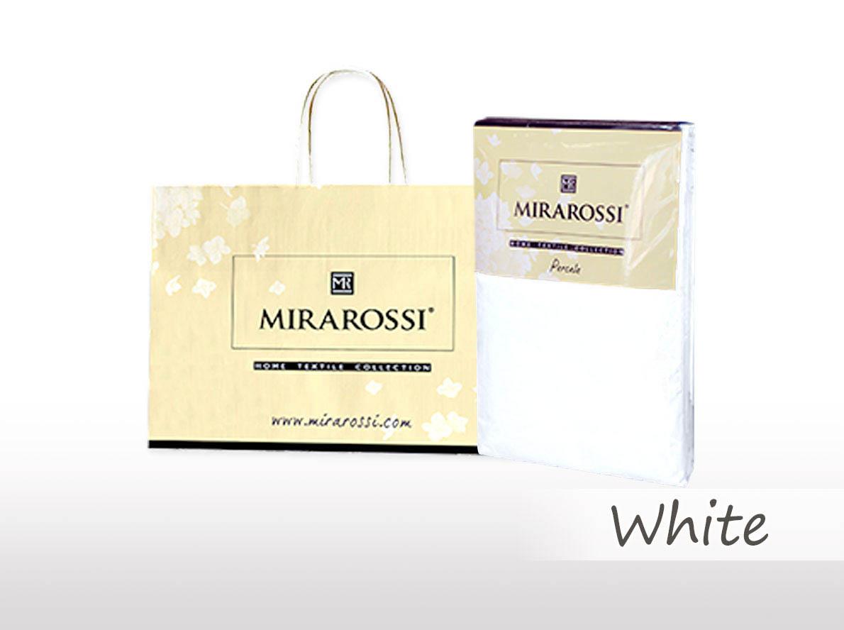 Простыни MIRAROSSI Простыня на резинке Nilo Цвет: Белый (166х208) простыни mirarossi простыня на резинке nilo цвет коралловый 146х208