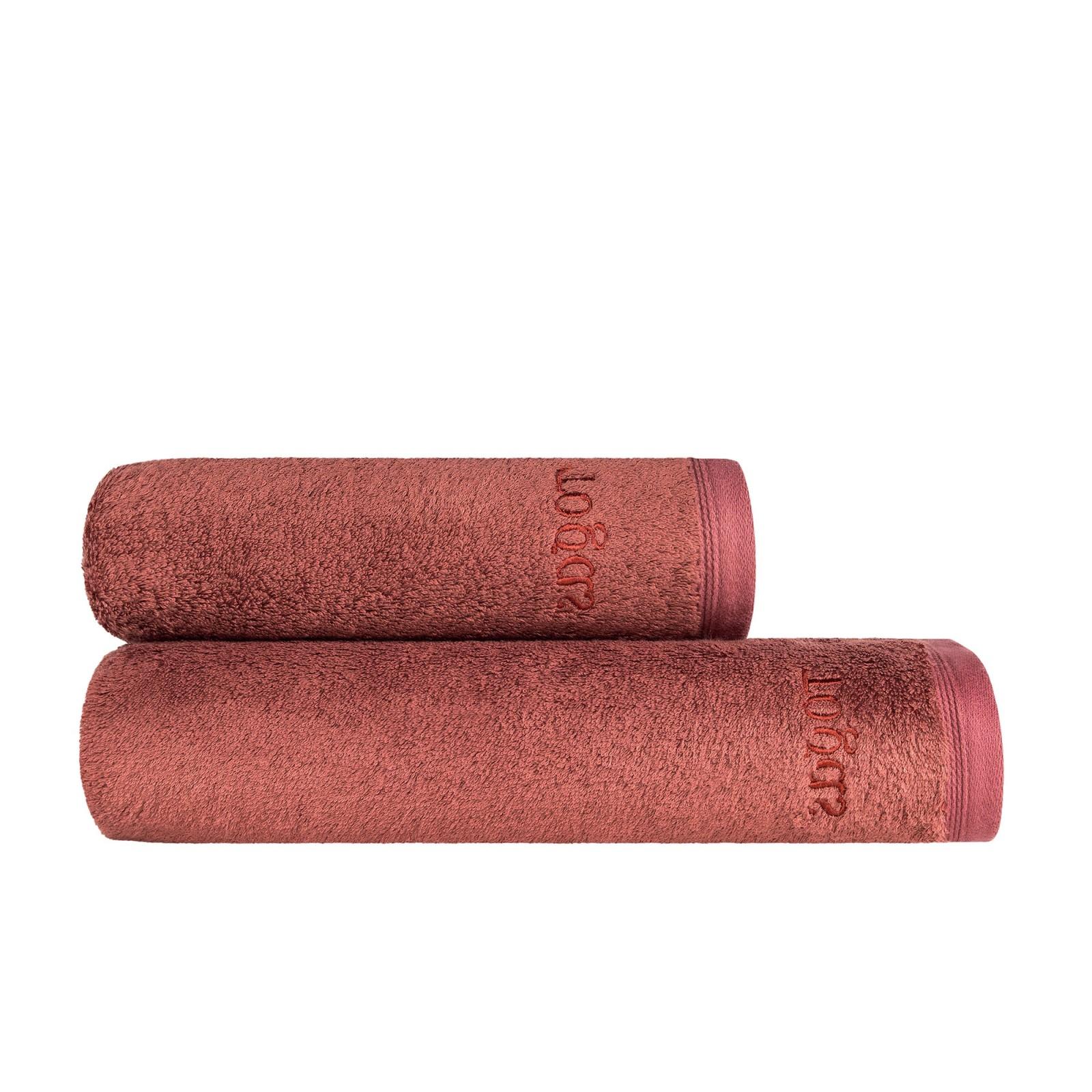 Полотенца Togas Полотенце Пуатье Цвет: Марсала (50х100 см)