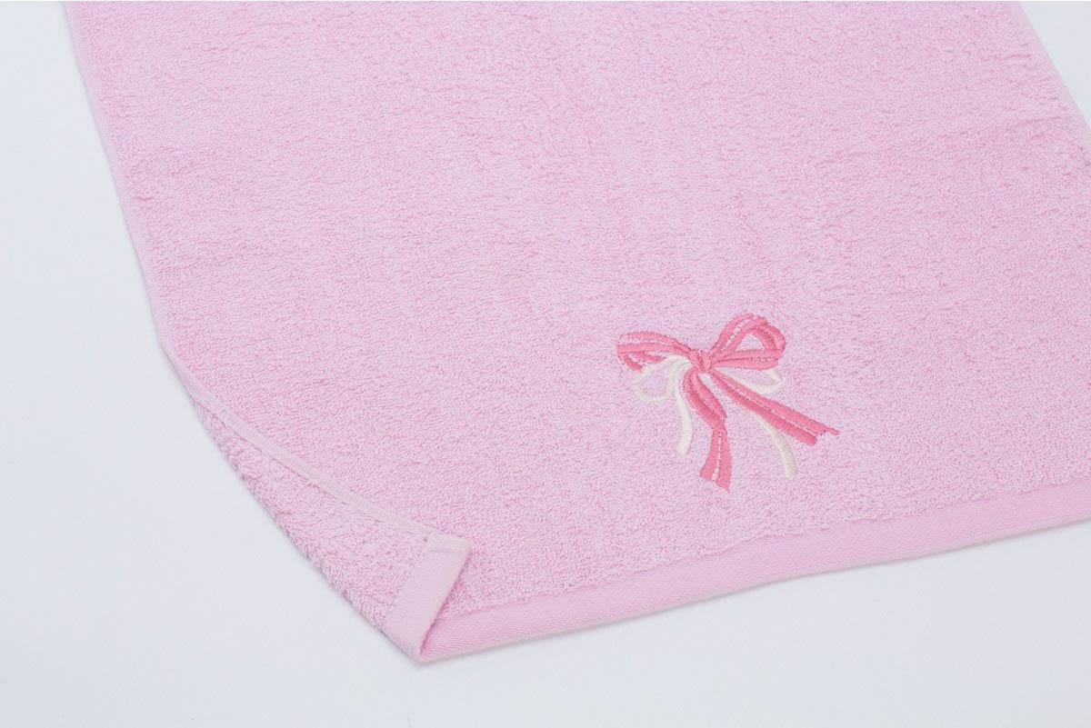 Полотенца Любимый дом Полотенце Бантик Цвет: Розовый (60х130 см)
