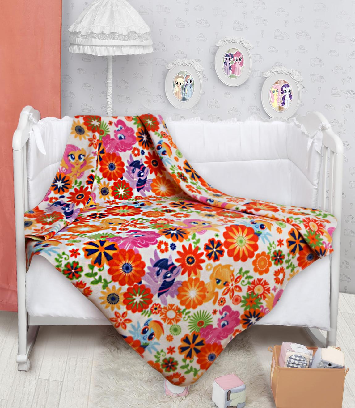 Детские покрывала, подушки, одеяла Mona Liza Детский плед Пони (150х200 см) mona liza mona liza плед флисовый тачки ралли 150х200