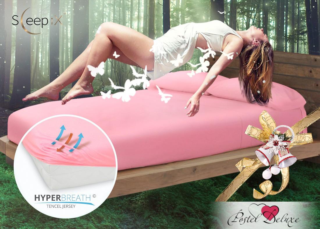 Простыни Sleep iX Простыня на резинке Alpin Цвет: Брусника (200х200) siemens lc 91 ba 582 ix