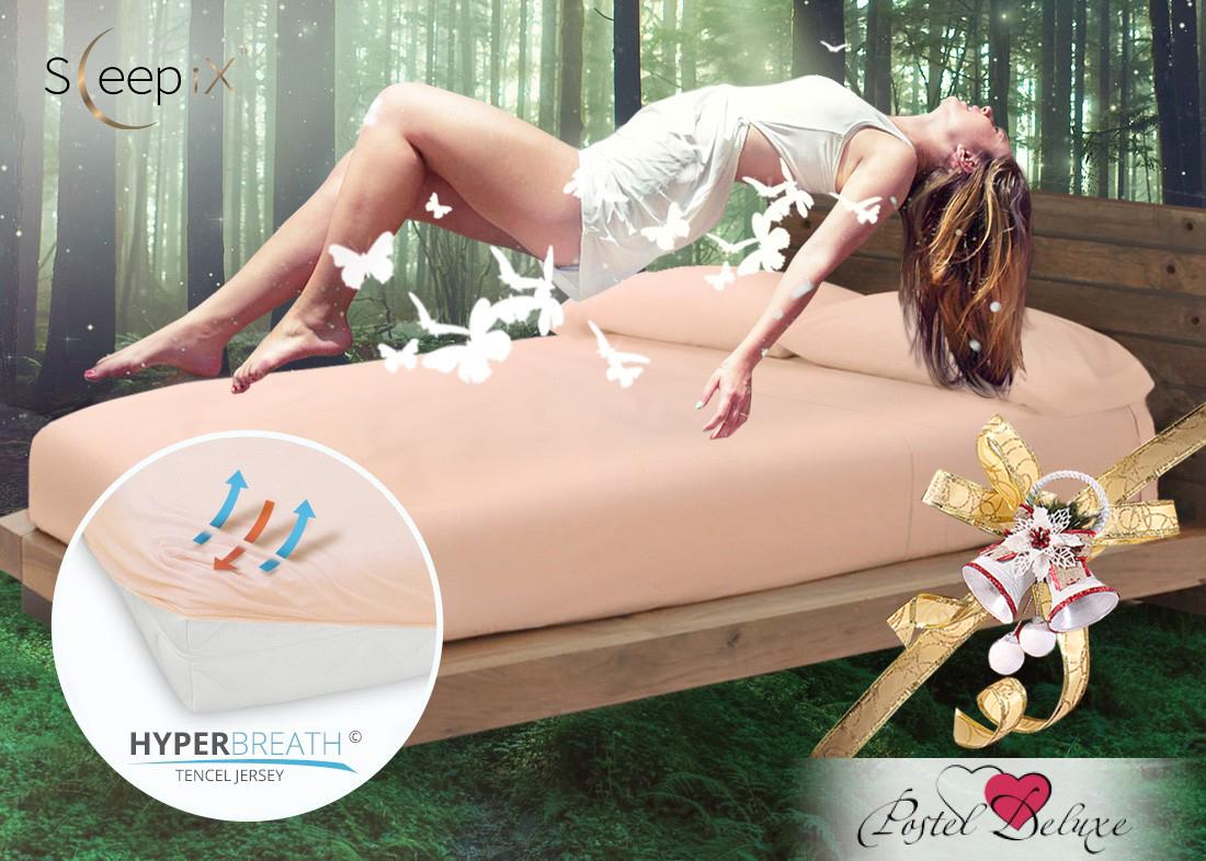 Простыни Sleep iX Простыня на резинке Alpin Цвет: Чайная Роза (140х200) насос универсальный x alpin sks 10035 пластик серебристый 0 10035