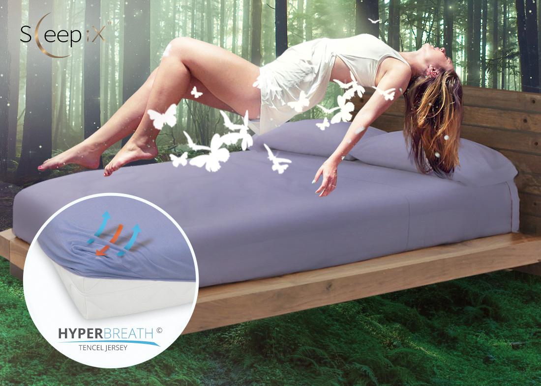 Простыни Sleep iX Простыня на резинке Alpin Цвет: Фиолетовая Астра (80х200) siemens lc 91 ba 582 ix