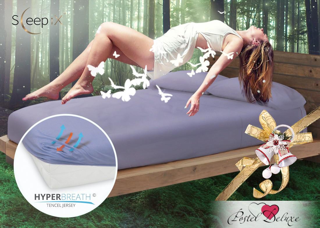Простыни Sleep iX Простыня на резинке Alpin Цвет: Фиолетовая Астра (90х200) насос универсальный x alpin sks 10035 пластик серебристый 0 10035