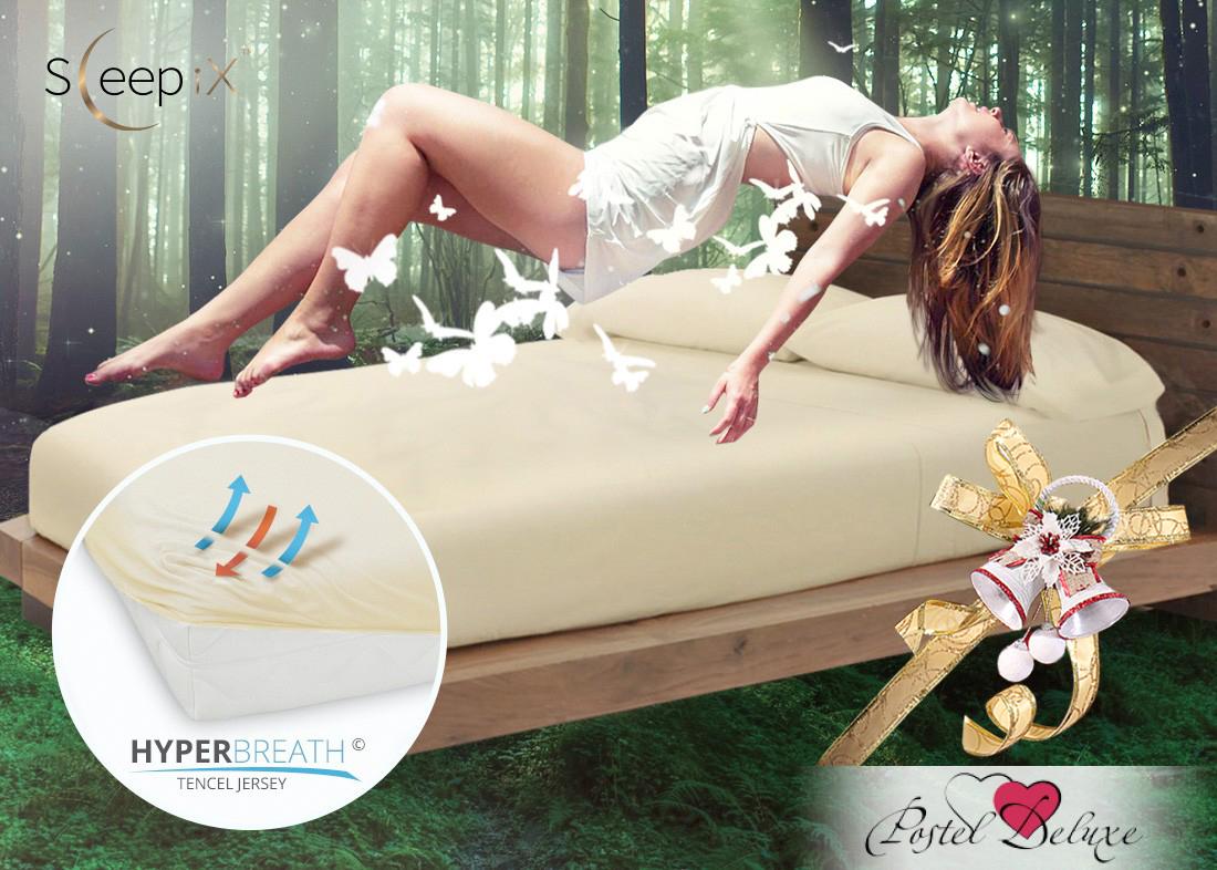 Простыни Sleep iX Простыня на резинке Alpin Цвет: Молоко  (140х200) насос универсальный x alpin sks 10035 пластик серебристый 0 10035