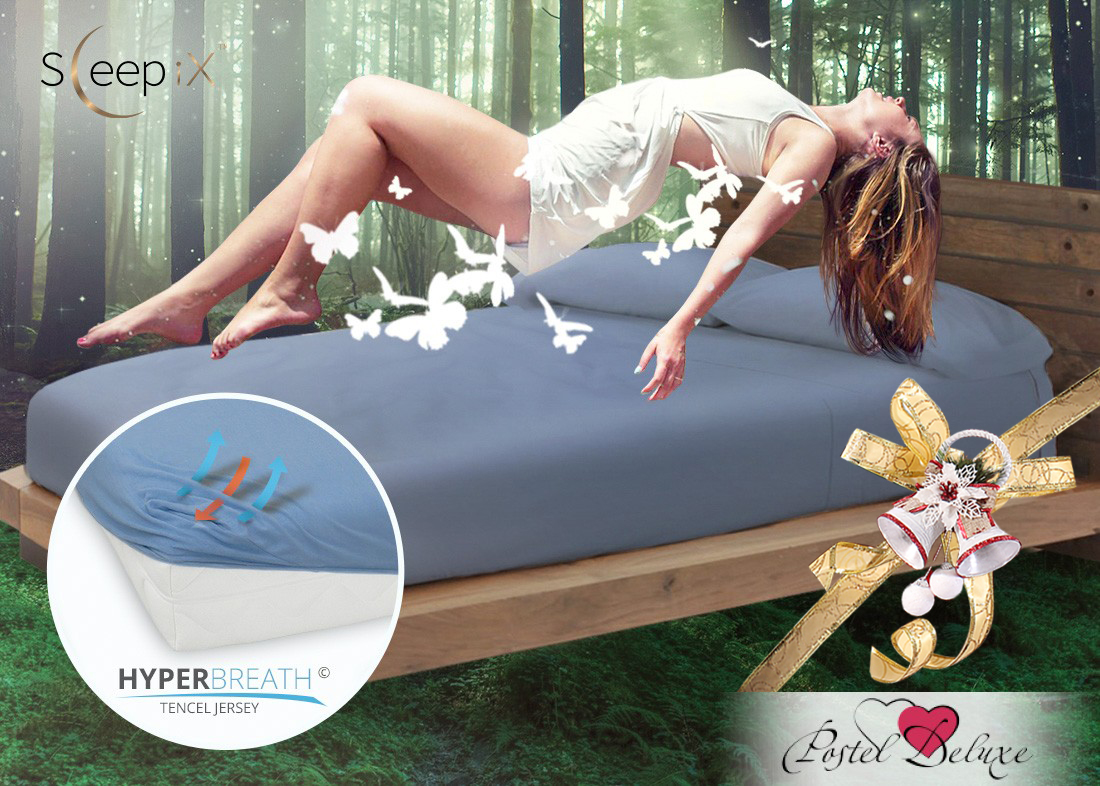 Простыни Sleep iX Простыня на резинке Alpin Цвет: Полночный Синий  (180х200) насос универсальный x alpin sks 10035 пластик серебристый 0 10035