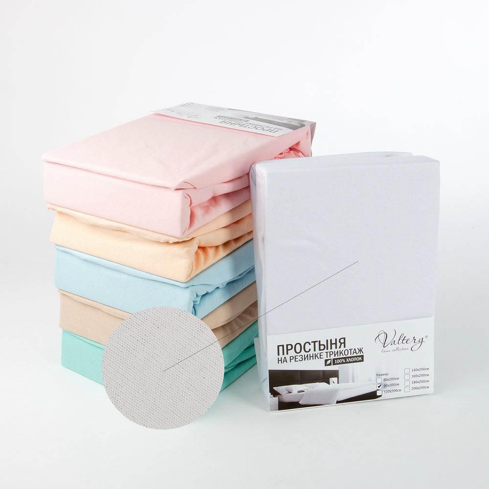 Простыни Valtery Простыня на резинке Barrett Цвет: Белый (140х200) футболка мужская neil barrett fa01 2015