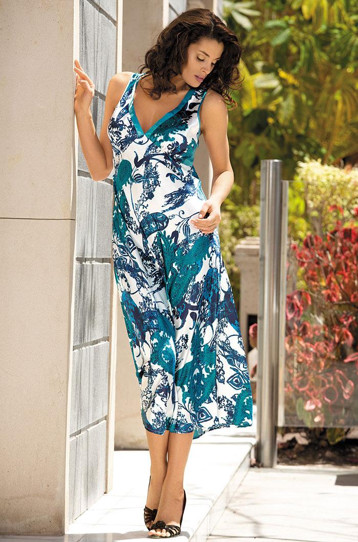 Ночные сорочки Mia-Mia Ночная сорочка Aqua (L) ночные сорочки hello moda ночная сорочка