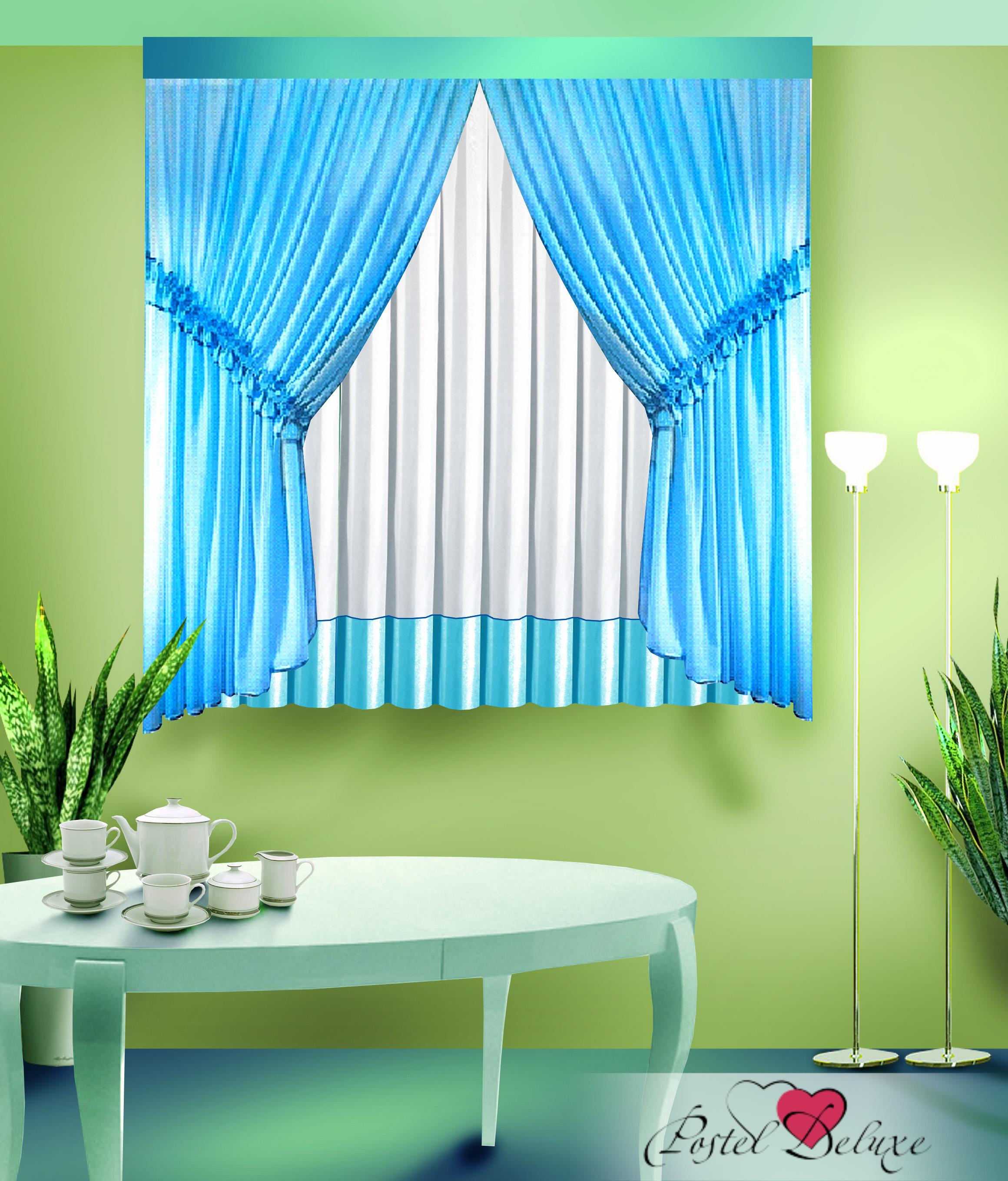 Шторы Zlata Korunka Классические шторы Цвет: Голубой шторы tac классические шторы winx цвет персиковый 200x265 см