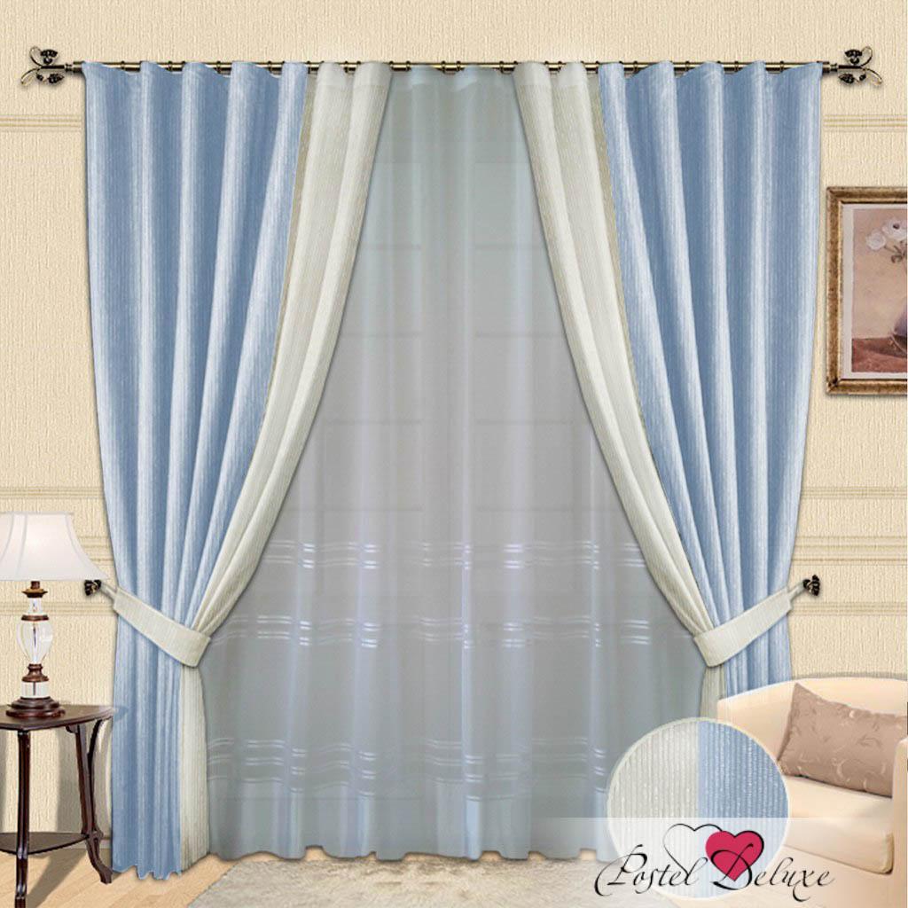 Шторы РеалТекс Классические шторы Millie Цвет: Голубой шторы реалтекс классические шторы alberta цвет персиковый молочный