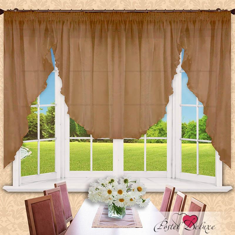 Шторы РеалТекс Классические шторы Alexis Цвет: Шоколад шторы tac классические шторы winx цвет персиковый 200x265 см