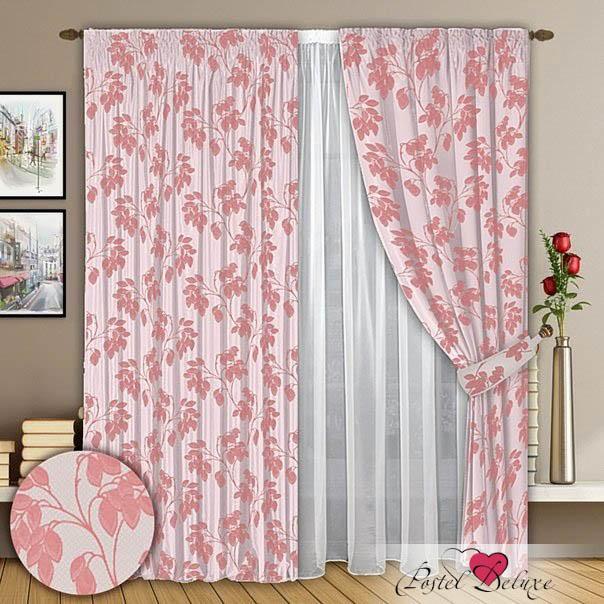 Шторы РеалТекс Классические шторы Phoebe Цвет: Розовый шторы tac классические шторы winx цвет персиковый 200x265 см