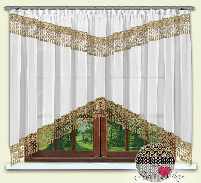 Шторы РеалТекс Классические шторы Karon Цвет: Бежевый шторы реалтекс классические шторы alberta цвет персиковый молочный