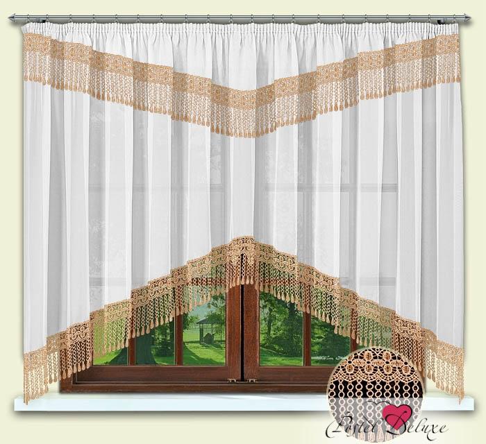 Шторы РеалТекс Классические шторы Karon Цвет: Персик шторы tac классические шторы winx цвет персиковый 200x265 см