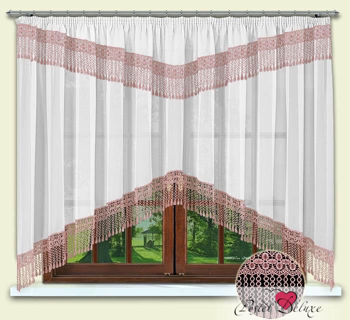 Шторы РеалТекс Классические шторы Karon Цвет: Розовый шторы tac классические шторы winx цвет персиковый 200x265 см