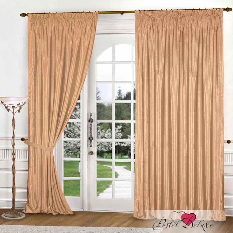 Шторы РеалТекс Классические шторы Brisa Цвет: Золотистый шторы реалтекс классические шторы alberta цвет персиковый молочный