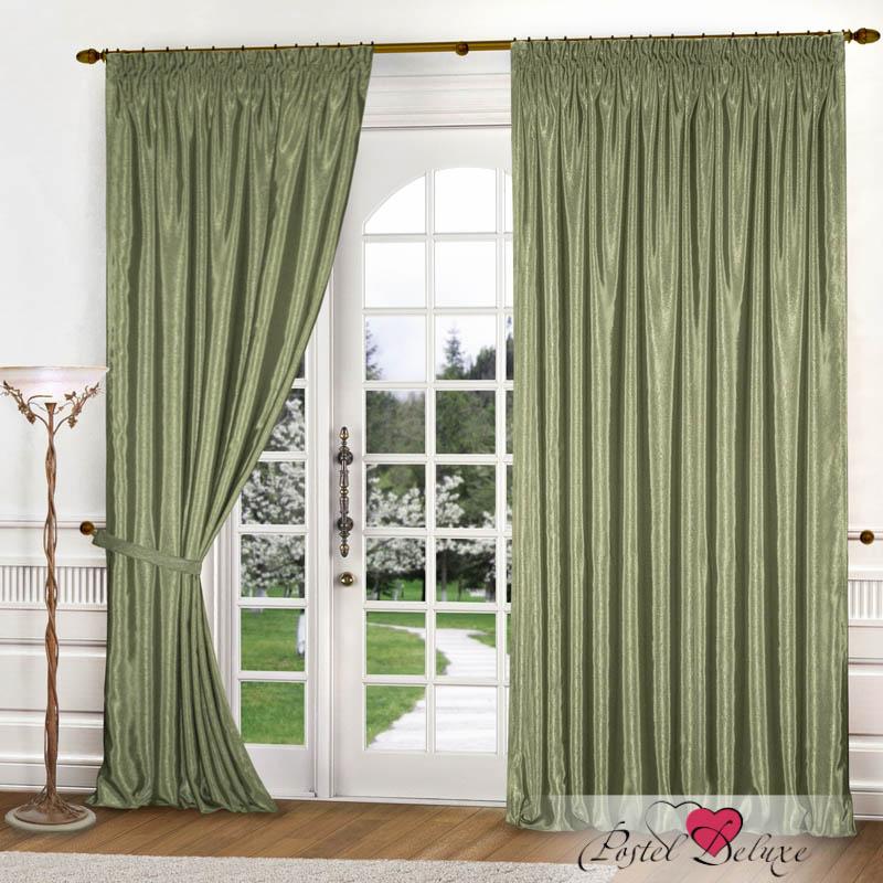 Шторы РеалТекс Классические шторы Brisa Цвет: Оливковый шторы реалтекс классические шторы alberta цвет персиковый молочный