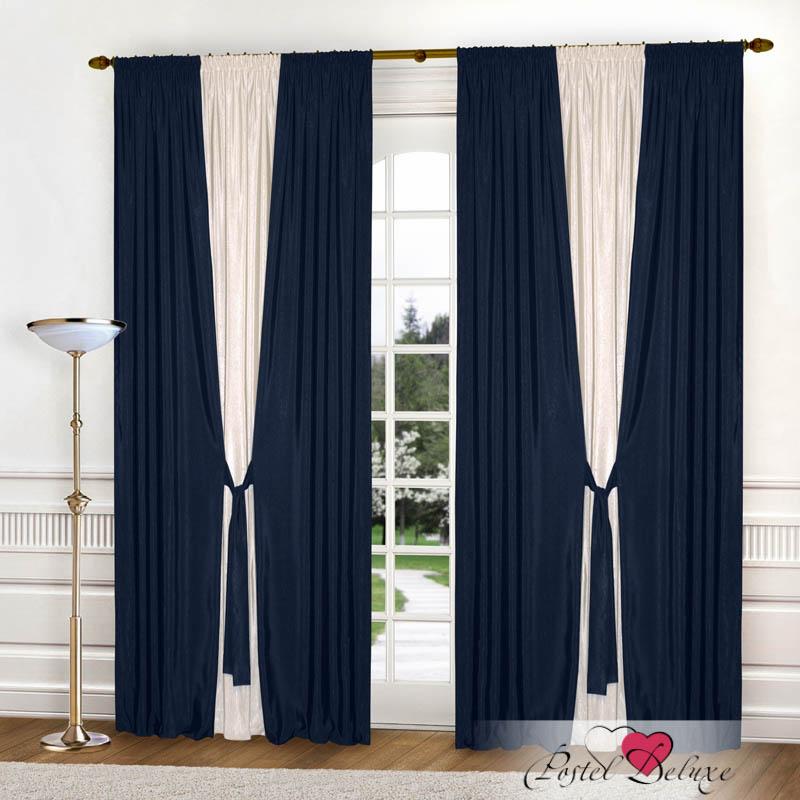 Шторы РеалТекс Классические шторы Somon Цвет: Синий шторы реалтекс классические шторы somon цвет светло терракотовый