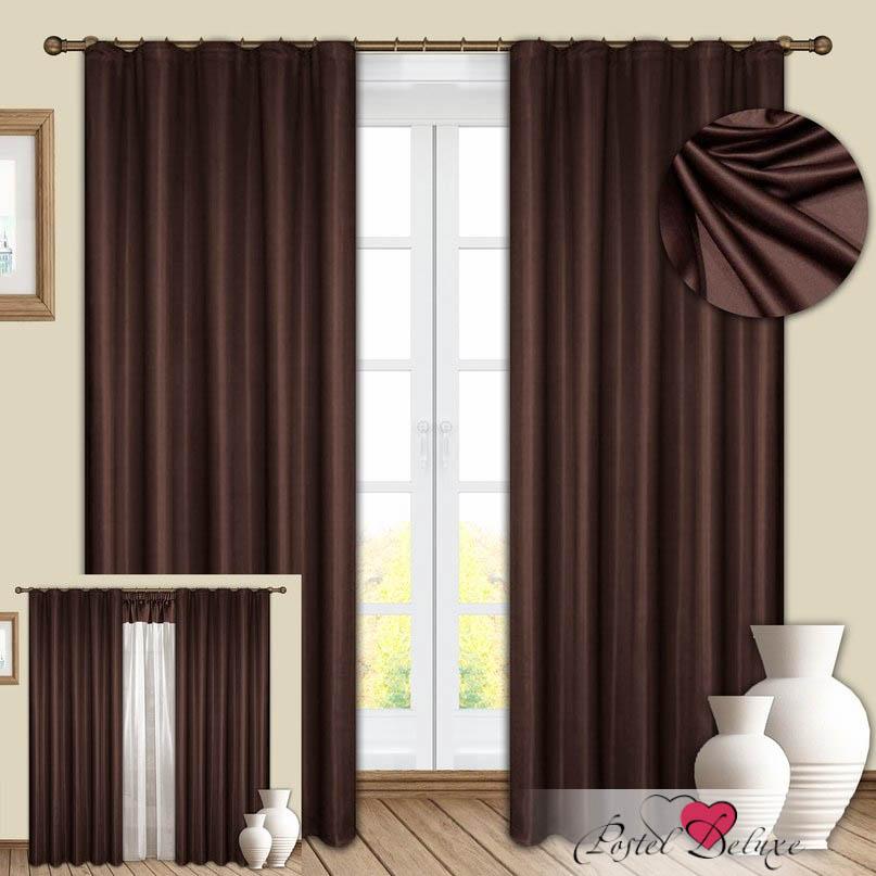 Шторы РеалТекс Классические шторы Hanimeli Цвет: Венге шторы tac классические шторы winx цвет персиковый 200x265 см