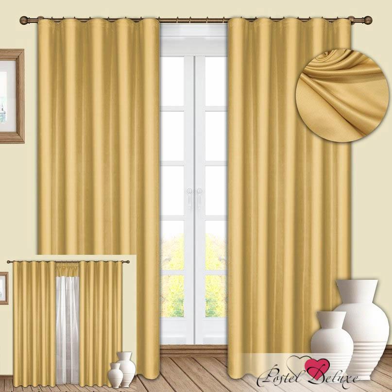 Шторы РеалТекс Классические шторы Hanimeli Цвет: Золото шторы tac классические шторы winx цвет персиковый 200x265 см
