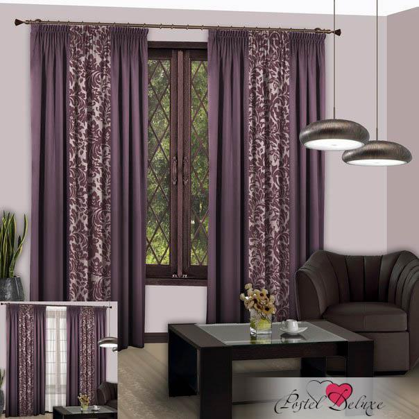 Шторы РеалТекс Классические шторы Nice Цвет: Светло-Фиолетовый шторы tac классические шторы winx цвет персиковый 200x265 см