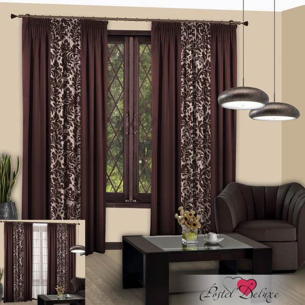 Шторы РеалТекс Классические шторы Nice Цвет: Венге шторы tac классические шторы winx цвет персиковый 200x265 см