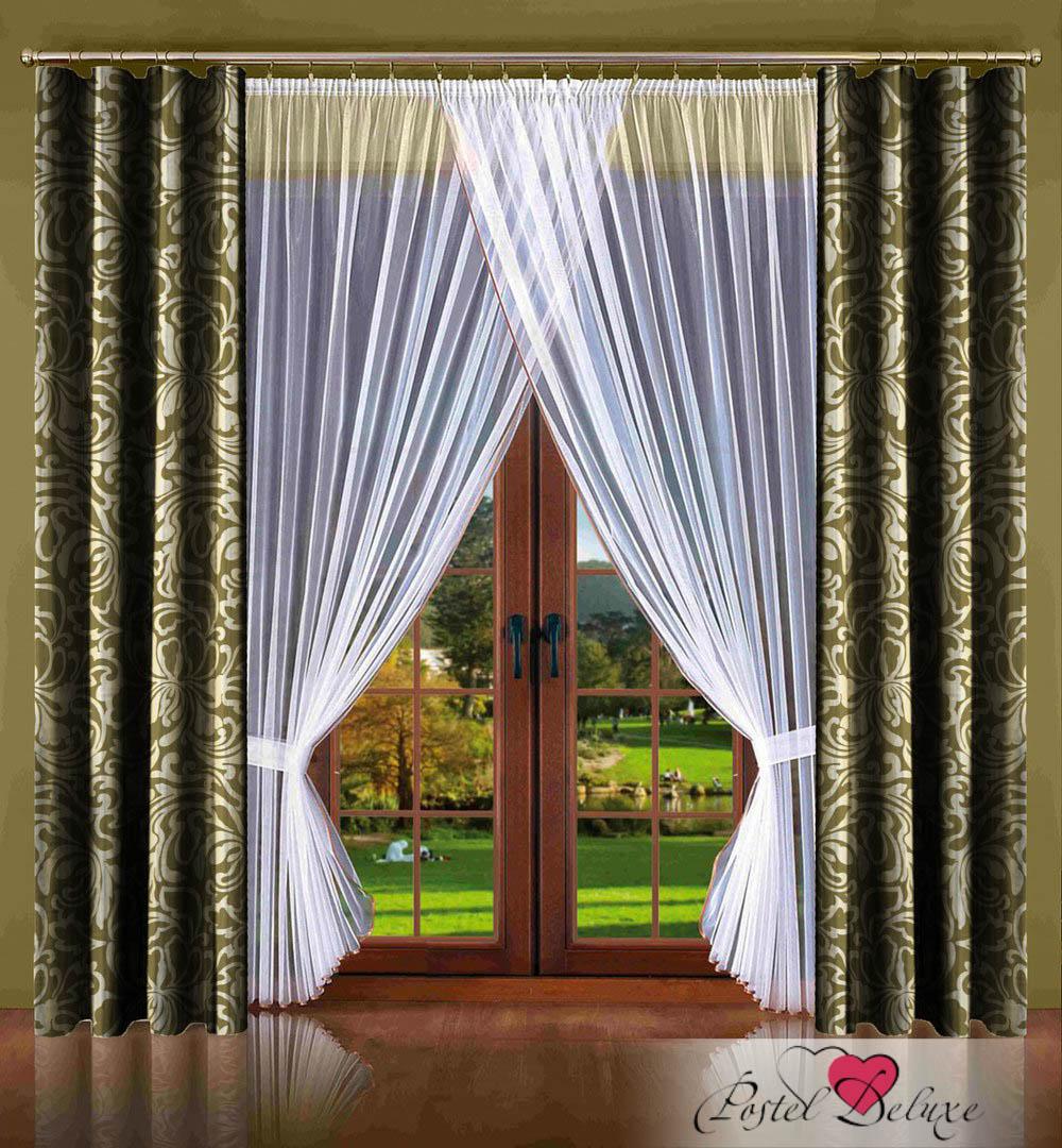 Шторы РеалТекс Классические шторы Alleric Цвет: Фисташка шторы реалтекс классические шторы alberta цвет персиковый молочный