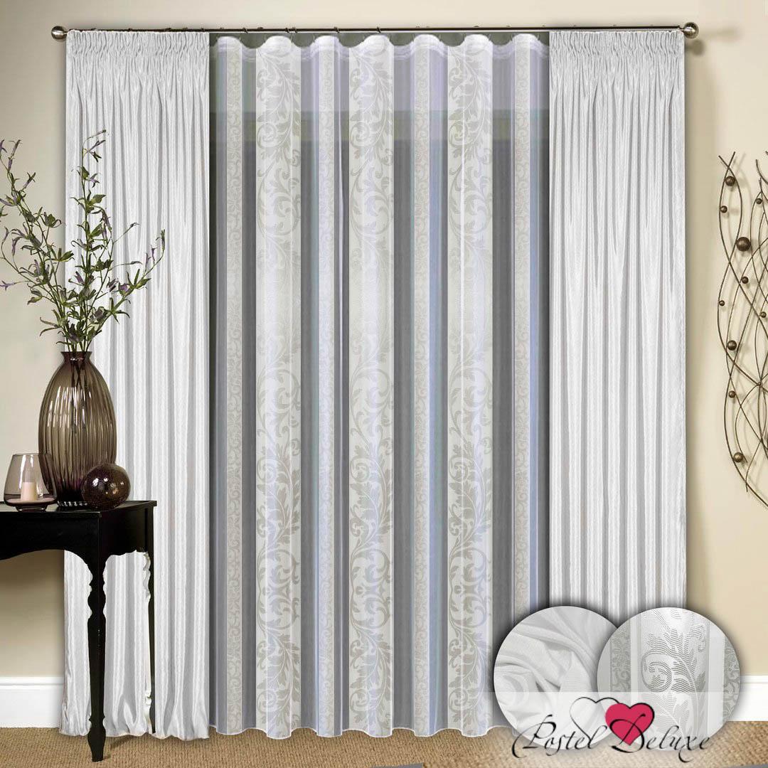 Шторы РеалТекс Классические шторы Bridget Цвет: Белый шторы tac классические шторы winx цвет персиковый 200x265 см