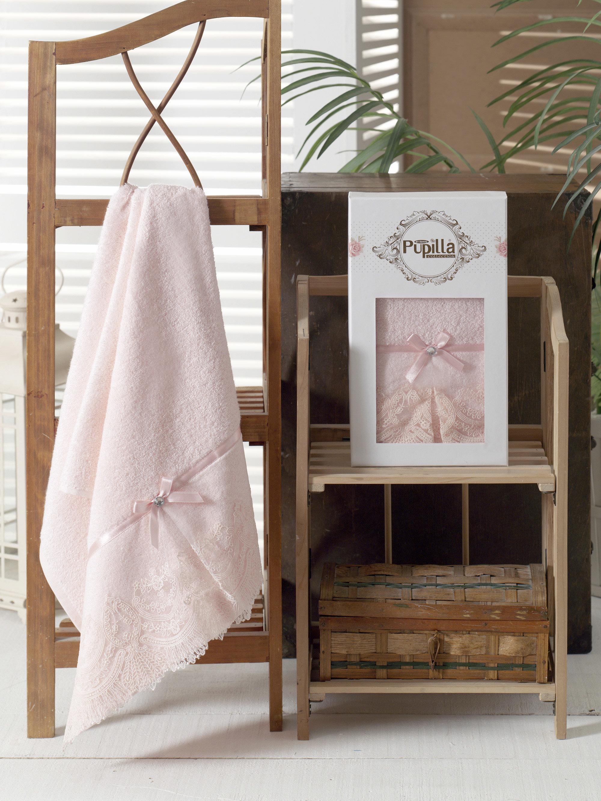 Полотенца Pupilla Полотенце Vita Цвет: Розовый (50х90 см) майка послеродовая nuova vita бесшовная цвет белый 14972 размер xl 48 50