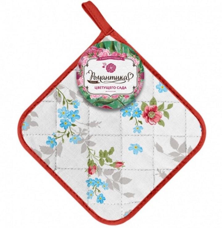 Рукавицы, прихватки, фартуки Романтика Кухонный набор Розовый Ноктюрн комплект полотенец вафельных 50 70 2шт романтика розовый ноктюрн 1208309