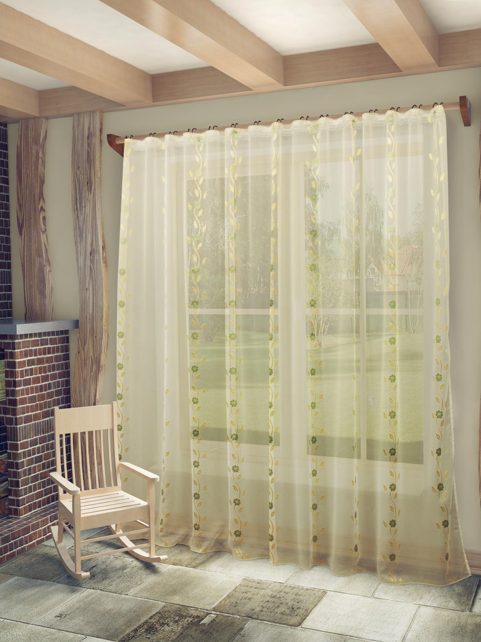 купить Шторы Sanpa Классические шторы Розалия Цвет: Бежево-Золотистый дешево