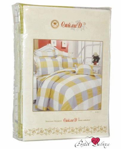 Постельное белье СайлиД Постельное белье Olga А/s-91  (2 сп. евро)