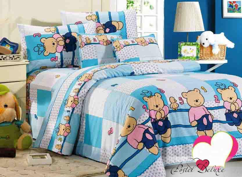 Детское Постельное белье СайлиД Постельное белье Bear С-35 (1,5 сп.) детское постельное белье сайлид детское постельное белье arma 150х210 см