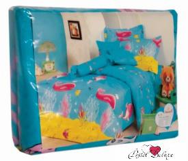 Детское Постельное белье СайлиД Постельное белье Bears С-58 (150х210 см) детское постельное белье сайлид детское постельное белье arma 150х210 см