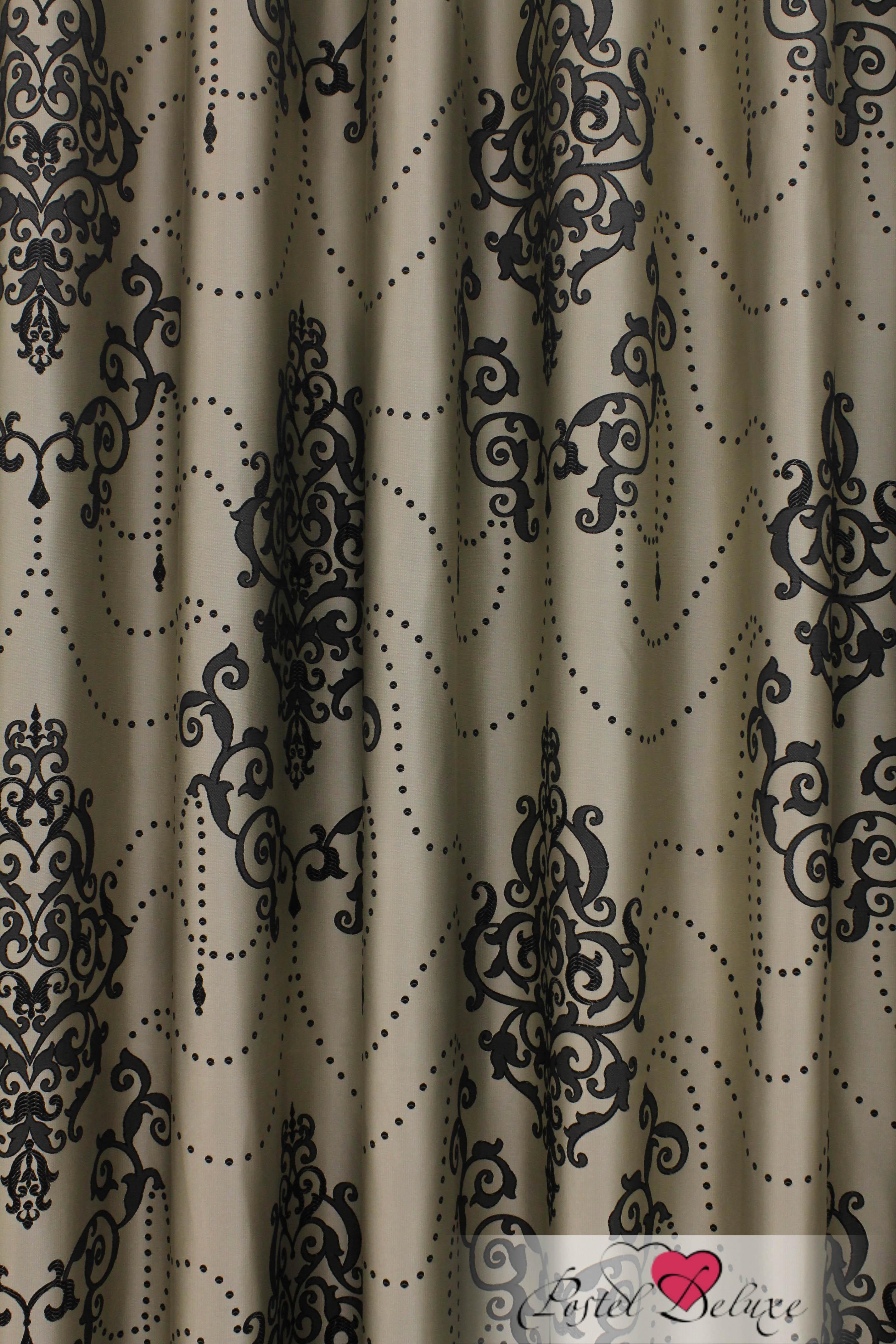 Шторы Sanpa Классические шторы Стефани Цвет: Серый шторы tac классические шторы winx цвет персиковый 200x265 см