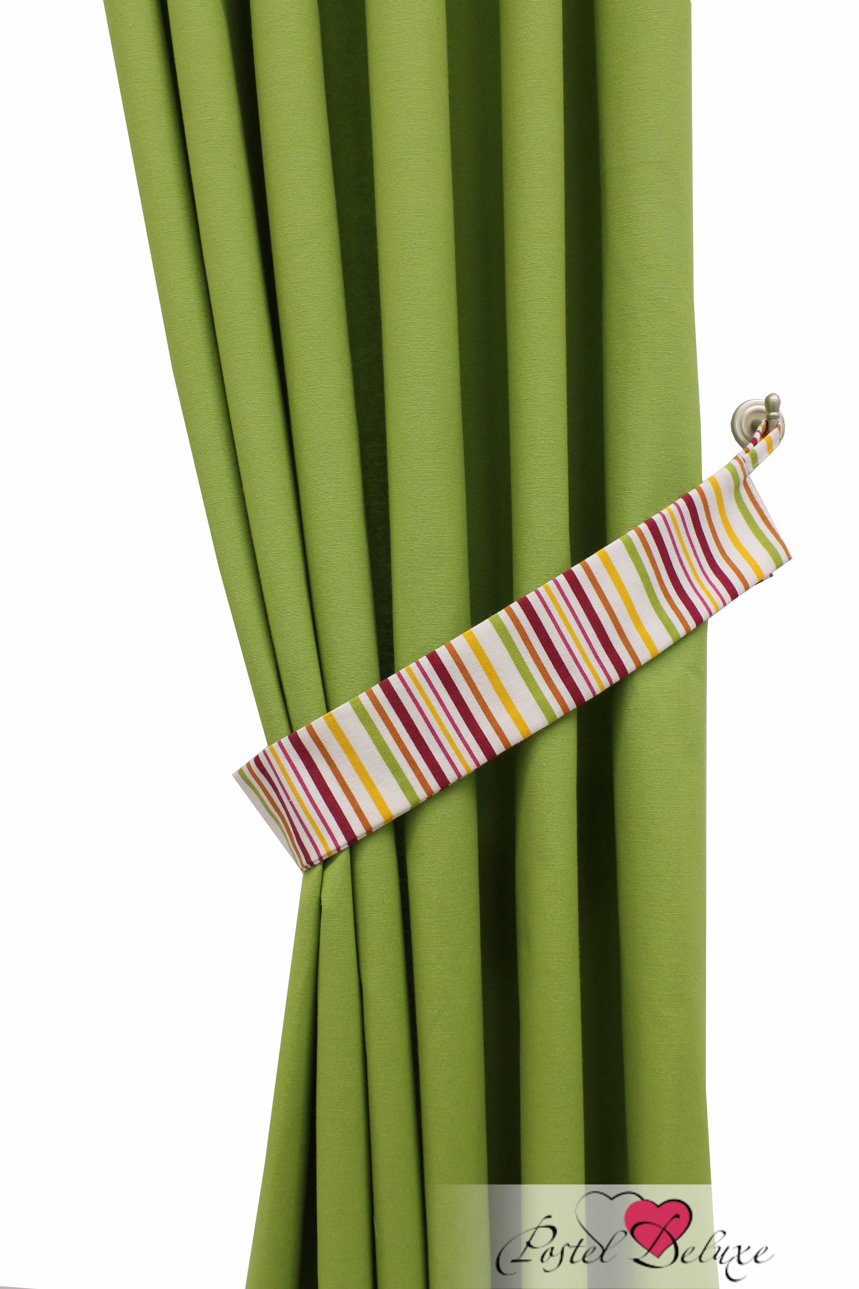 Шторы Sanpa Классические шторы Бертина Цвет: Зеленый шторы primavera классические шторы maev цвет персиковый