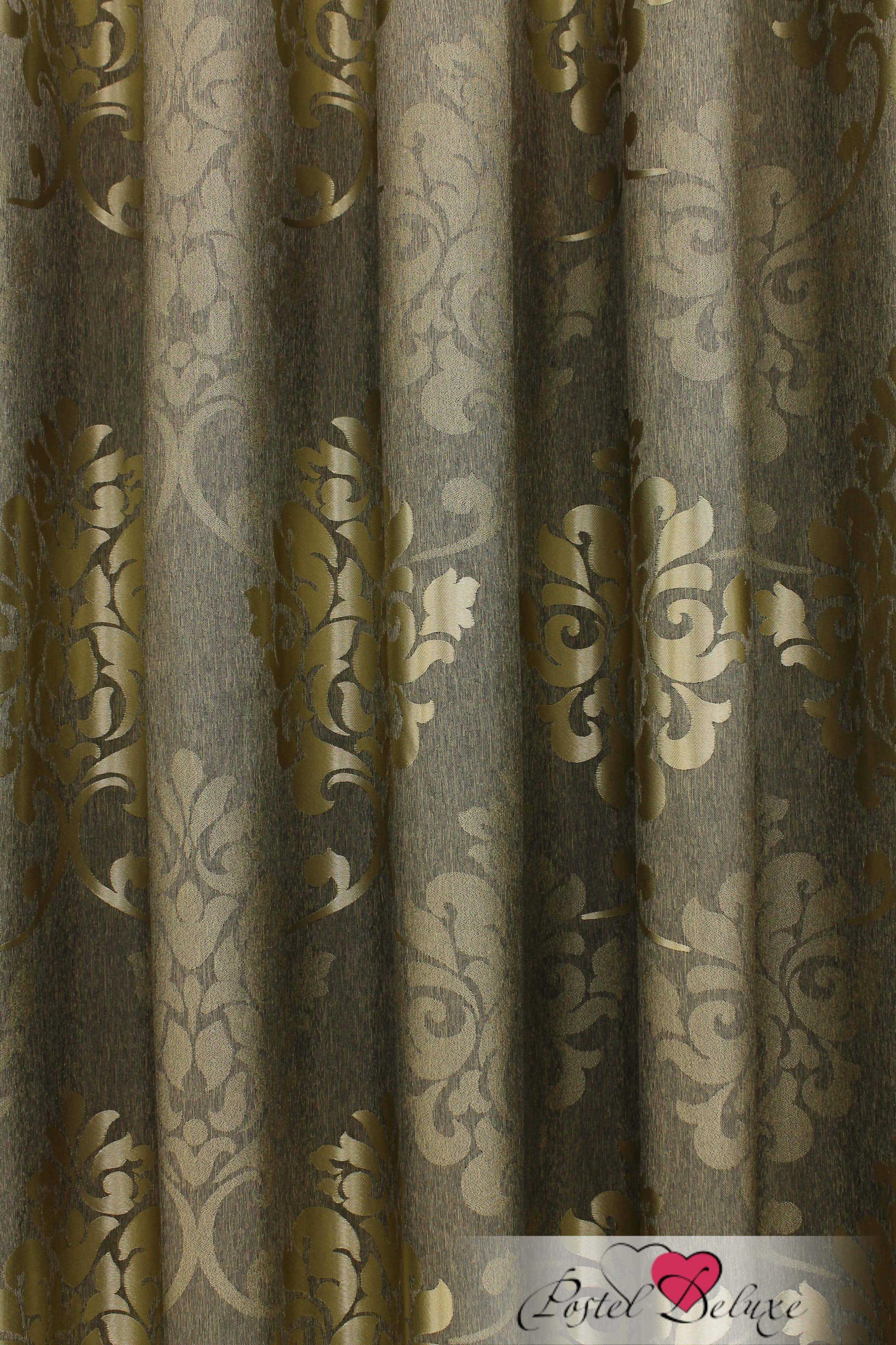 Шторы Sanpa Классические шторы Оливия Цвет: Зеленый шторы tac классические шторы winx цвет персиковый 200x265 см