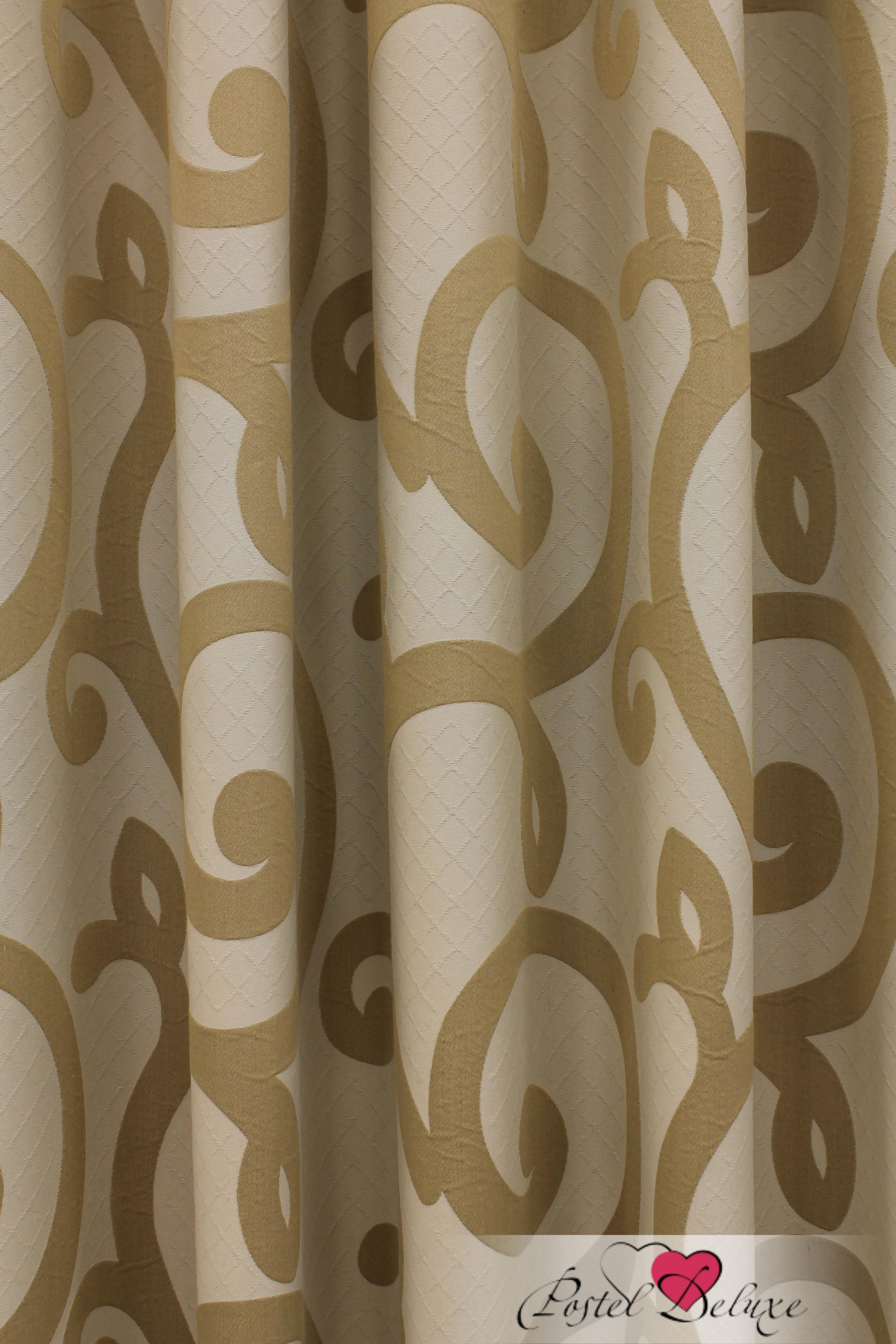 Шторы Sanpa Классические шторы Реджина Цвет: Светло-Коричневый шторы tac классические шторы winx цвет персиковый 200x265 см
